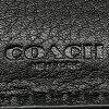 教练钱包奥特莱斯人COACH F74992 BLK shigunechaembosudorezakompakuto ID钱包2个机会钱包黑色