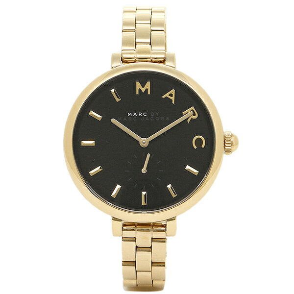 マークバイマークジェイコブス 時計 MARC BY MARC JACOBS MJ3454 SALLY サリー 腕時計 ウォッチ ブラック/ゴールド