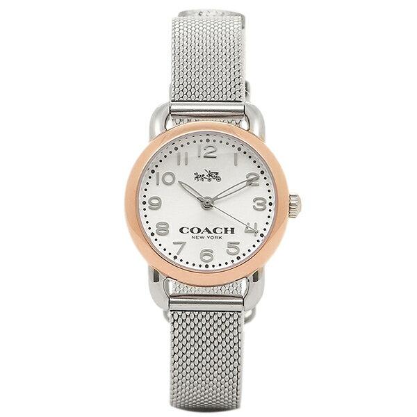 コーチ 時計 レディース COACH 14502282 DELANCEY デランシー 腕時計 ウォッチ シルバ-/ピンクゴ-ルド