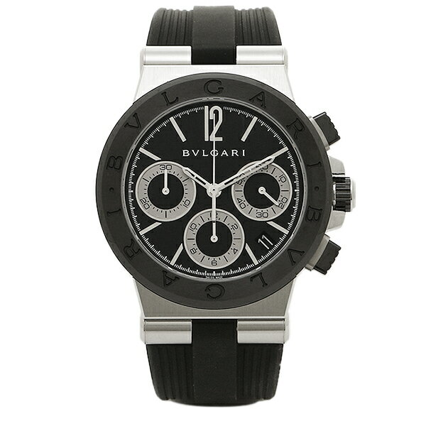 BVLGARI 時計 メンズ ブルガリ DG37BSCVDCH 102549 ディアゴノ 自動巻き 腕時計 ウォッチ ブラック