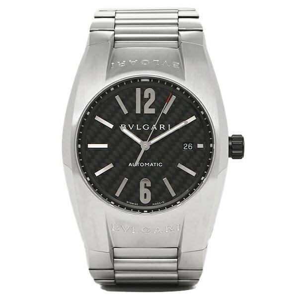 ブルガリ 時計 メンズ BVLGARI EG40BSSDN 102577 ERGON エルゴン 自動巻き 腕時計 ウォッチ シルバー/ブラック