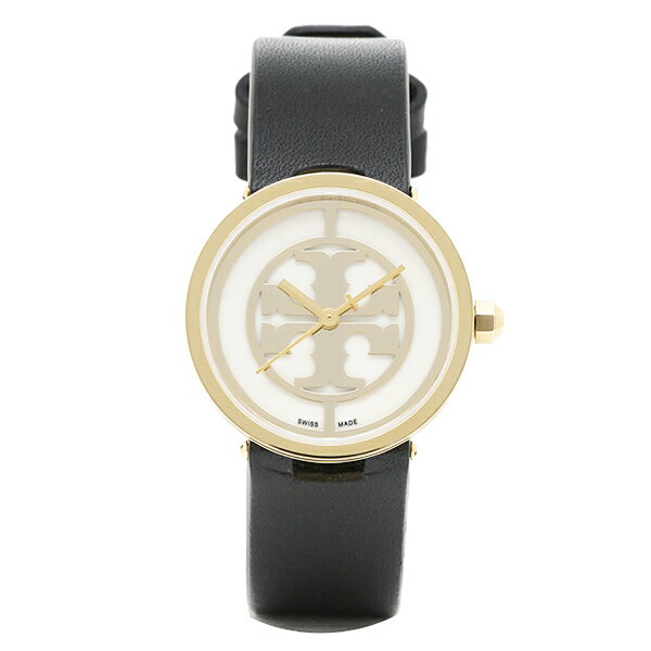 トリーバーチ 時計 レディース TORY BURCH TRB4008 REVA 日常生活防水 腕時計 ウォッチ イエロ-ゴ-ルド/ホワイト/ブラック