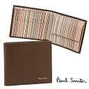 ポールスミス 財布 PAUL SMITH 4833-W761 C 2つ折り財布 CHOC