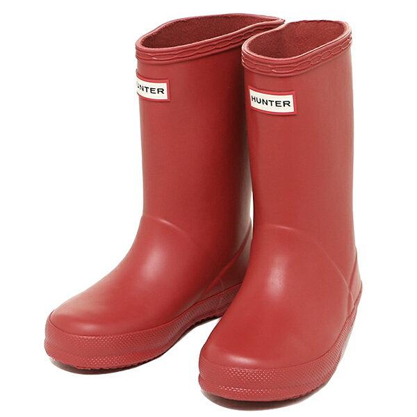 ハンター ブーツ レディース キッズ HUNTER KFT5003RMA HRE KIDS FIRST CLASSIC レインブーツ/長靴 HUNTER RED