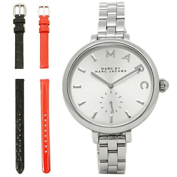 マークバイマークジェイコブス 時計 MARC BY MARC JACOBS MJ9722 SALLY サリー 替えベルト付 腕時計 ウォッチ シルバー