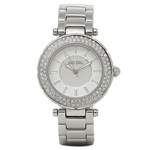 フォリフォリ 腕時計 レディース FOLLIFOLLIE WF1A019BSS BEAUTIME ジルコニア 時計/ウォッチ ホワイト/シルバー