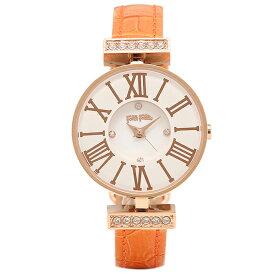 FOLLI FOLLIE 時計 フォリフォリ WF13B014SSW OR MINI DYNASTY レディース腕時計ウォッチ ホワイト/ローズゴールド/オレンジ