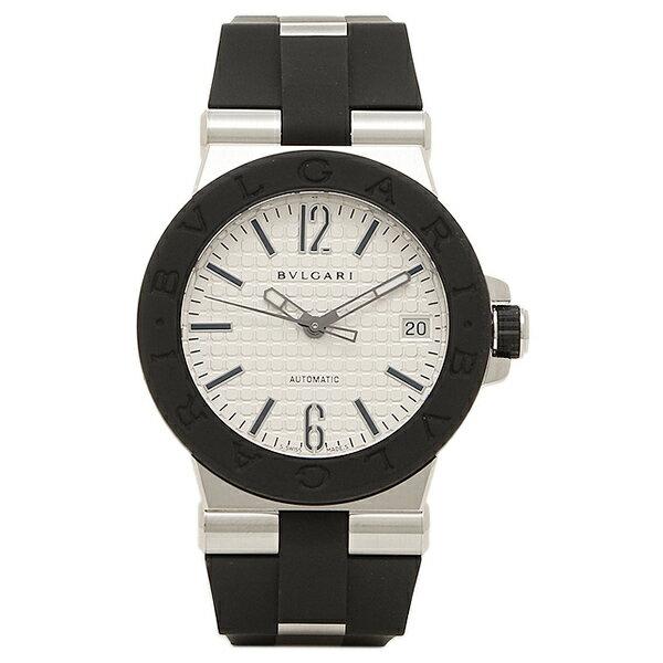 ブルガリ 時計 BVLGARI DG35C6SVD ディアゴノ 自動巻き メンズ腕時計 ウォッチ シルバー/ブラック