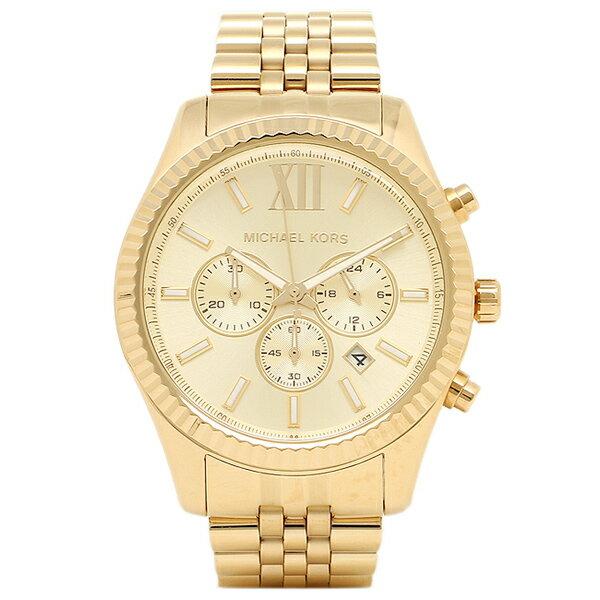 マイケルコース 時計 MICHAEL KORS MK8281 MK8281710 ミハエル メンズ腕時計 ウォッチ ゴールド