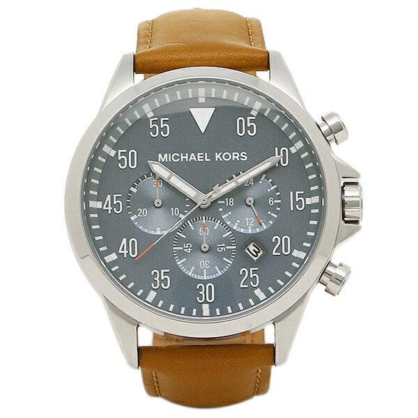 マイケルコース 時計 MICHAEL KORS MK8490 GAGE ゲート メンズ腕時計 ウォッチ ブルー/ブラウン