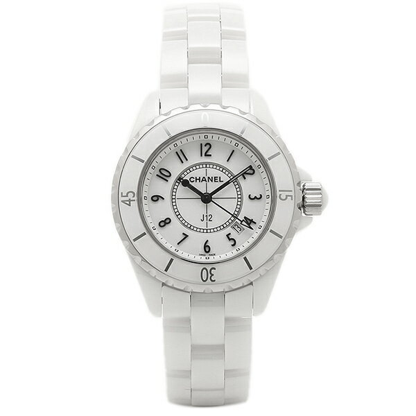 シャネル 時計 CHANEL H0968 J12 ジェイトゥエルヴ 33mm クオーツ 200m防水 レディース腕時計ウォッチ ホワイト