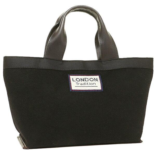 LONDON TRADITION ハンドバッグ ロンドントラディションLT-100 ブラック