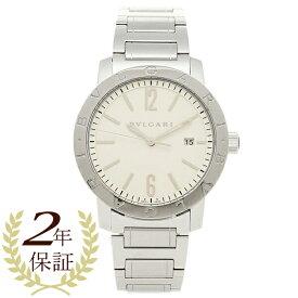 ブルガリ 時計 メンズ BVLGARI BB41WSSD ブルガリブルガリ 腕時計 ウォッチ シルバー/ホワイト