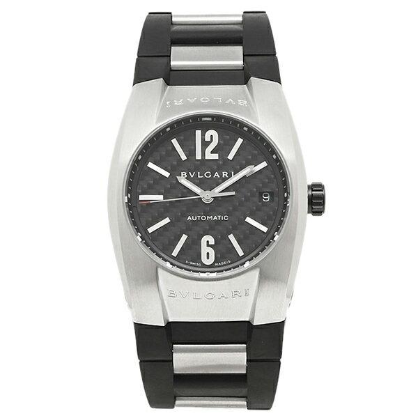 ブルガリ 時計 BVLGARI 腕時計 メンズ EG35BSVD エルゴン オートマチック ブラック ウォッチ シリアル有