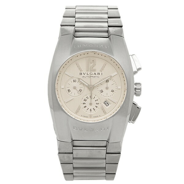 ブルガリ 時計 メンズ BVLGARI EG35C6SSDCH エルゴン 腕時計 ウォッチ シルバー/ホワイト