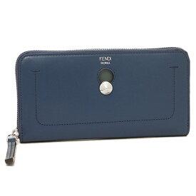 FENDI 長財布 レディース フェンディ 8M0382 SFH F07H6 ブルー