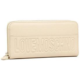 LOVE MOSCHINO ラブモスキーノ 長財布 JC5530PP03KD0 110 アイボリー