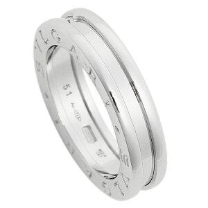 BVLGARI 指輪 リング アクセサリー メンズ レディース ブルガリ RWG1BAND AN852423 ビーゼロワン ワンバンド ホワイトゴールド【サイズ交換不可】