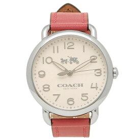 8508454cea68 COACH コーチ 腕時計 レディース 14502717 ピンク シルバー ホワイト