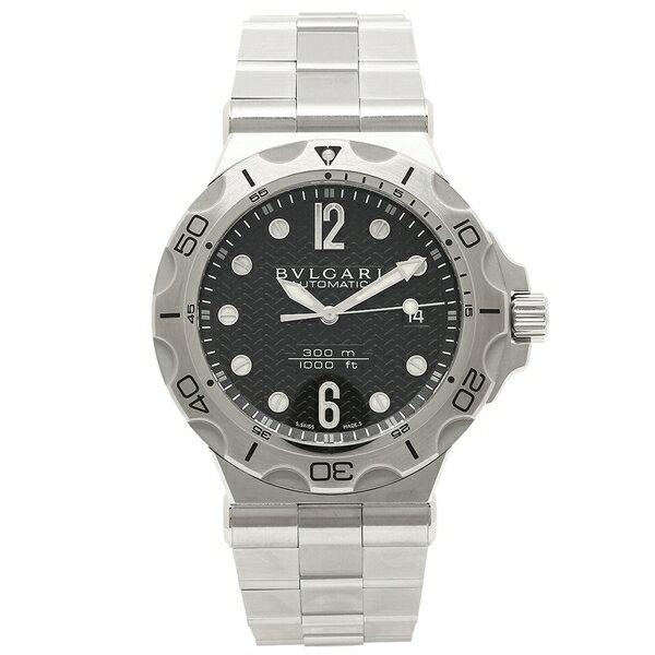BVLGARI 腕時計 メンズ ブルガリ DP42BSSDSDVTG ブラック シルバー