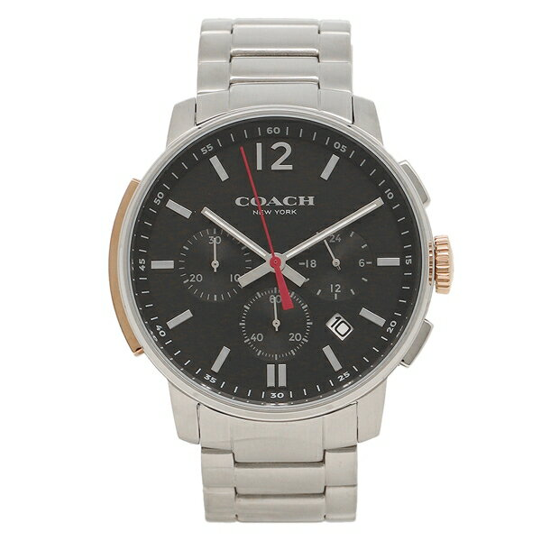 COACH コーチ 腕時計 メンズ 14602009 シルバー ブラック