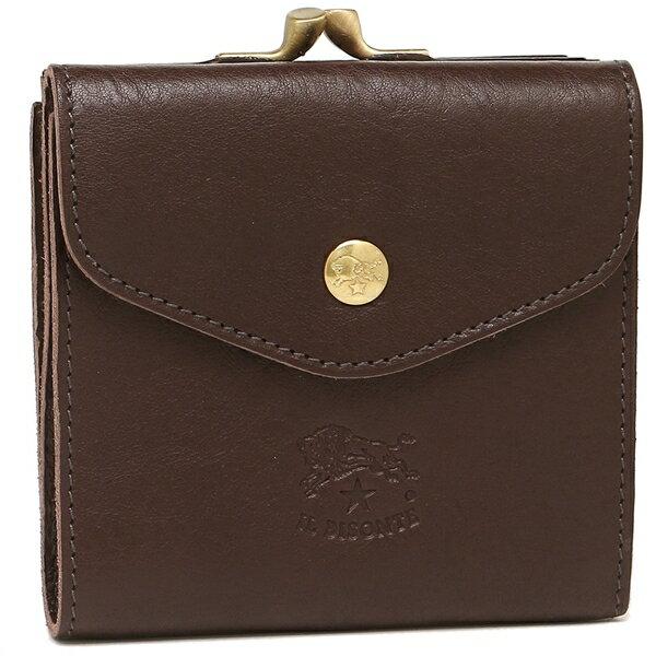 イルビゾンテ 折財布 メンズ/レディース IL BISONTE C0423 P 455 ブラウン