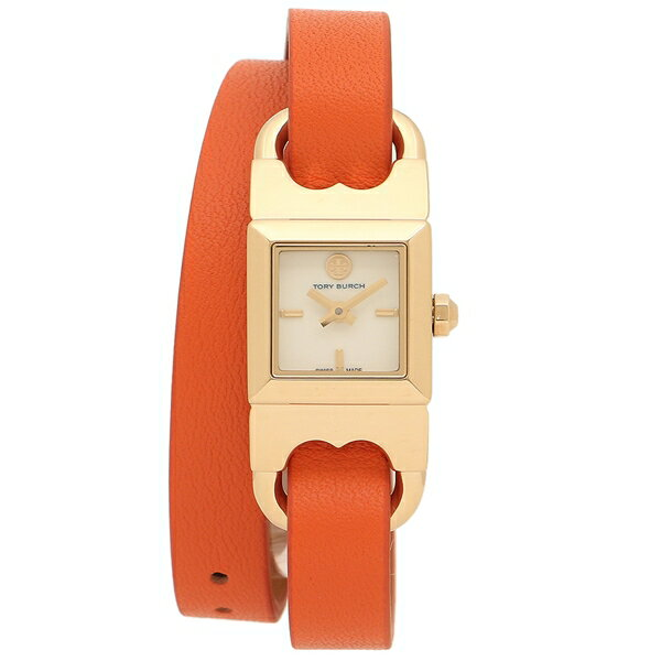 トリーバーチ 腕時計 アウトレット レディース TORY BURCH TB5403 ラゲッジブラウン オレンジ イエローゴールド アイボリー