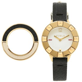 adfea267188e FURLA フルラ 腕時計 レディース R4251109512 899458 ホワイト イエローゴールド ブラック