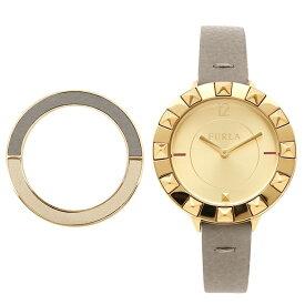 615807b3462f FURLA フルラ 腕時計 レディース R4251109515 グレーベージュ イエローゴールド