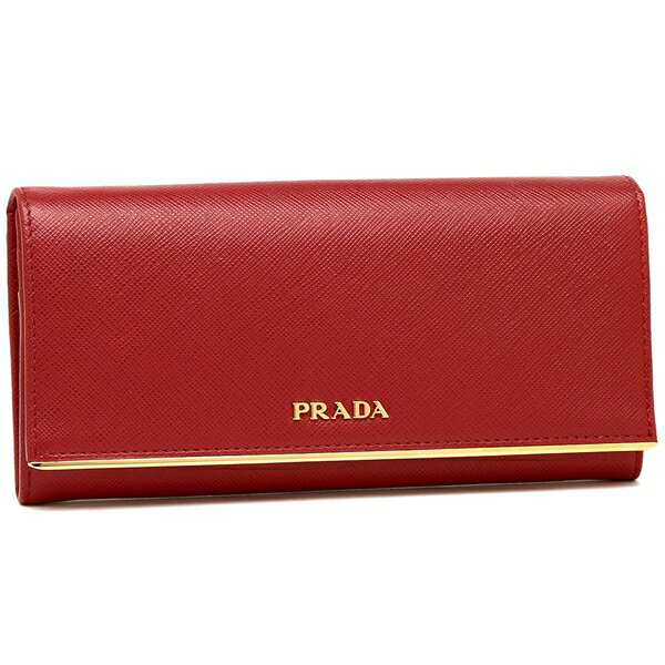 プラダ 長財布 レディース PRADA 1MH132 QME F068Z レッド