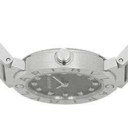 ブルガリ時計BVLGARI腕時計レディースブルガリダイヤインデックスブラックBB26BSS/12ウォッチシリアル有