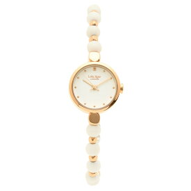 Lola Rose 腕時計 レディース ローラローズ LR4022 ホワイト ローズゴールド
