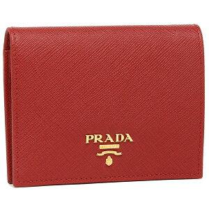PRADA 折財布 レディース プラダ 1MV204 QWA F068Z レッド