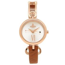 VIVIENNE WESTWOOD 腕時計 レディース ヴィヴィアンウエストウッド VV200RSBR ブラウン ローズゴールド シルバー