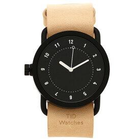 TID Watches 腕時計 メンズ/レディース TID01-36BK/N ブラック ナチュラル ティッドウォッチ