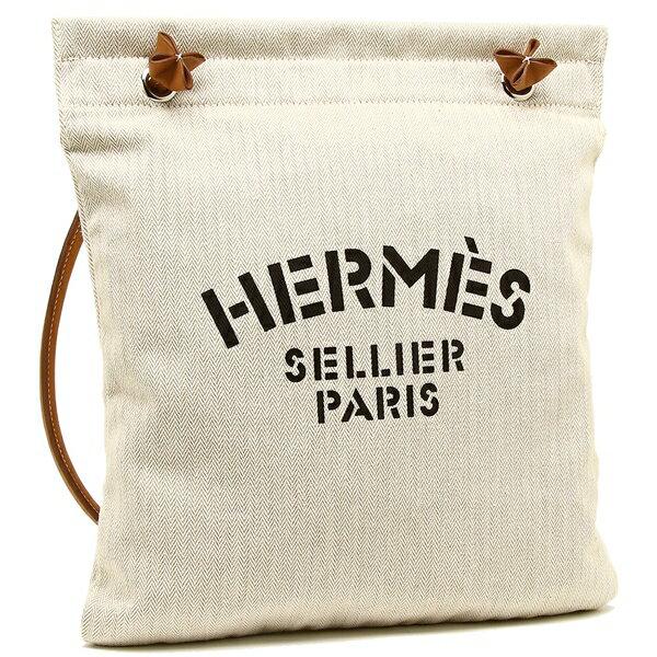 HERMES ショルダーバッグ レディース エルメス H068487CK 37 ホワイト ブラウン