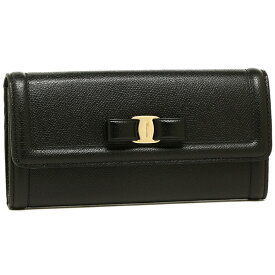 Salvatore Ferragamo 長財布 レディース フェラガモ 22D154 0683509 ブラック