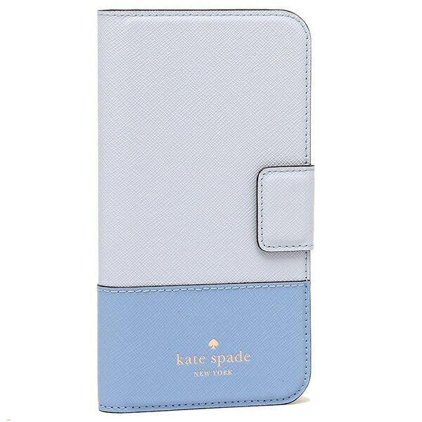 KATE SPADE iPhoneケース iPhone X レディース ケイトスペード 8ARU2236 455 ブルーマルチ