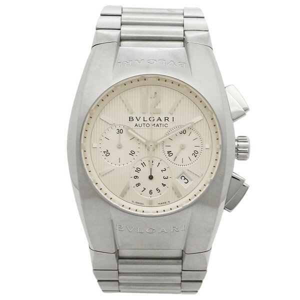 ブルガリ 時計 メンズ BVLGARI EG40C6SSDCH エルゴン 腕時計 ウォッチ シルバー/ホワイト