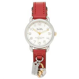 70085a590bf0 COACH 腕時計 レディース コーチ 14502968 レッド シルバー