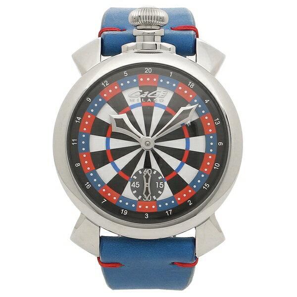 GAGA MILANO 腕時計 メンズ ガガミラノ 5010LV03 マルチカラー ブルー シルバー