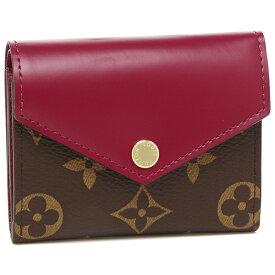 LOUIS VUITTON 折財布 レディース ルイヴィトン M62932 ブラウン ピンク