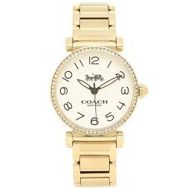 6fb423196391 COACH 腕時計 レディース コーチ 14502855 イエローゴールド ホワイト