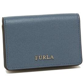 e12fc4975b24 FURLA カードケース レディース フルラ 1006805 PS04 B30 W3E ブルー