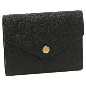 LOUIS VUITTON 折財布 レディース ルイヴィトン M64060 ブラック