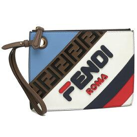 FENDI クラッチバッグ レディース フェンディ 8BS020A 5S0 F15HJ ブルー