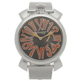GAGA MILANO 腕時計 メンズ ガガミラノ 5080.4-NEW ブラック