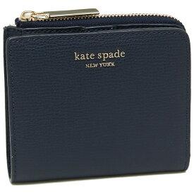 KATE SPADE 折財布 レディース ケイトスペード PWRU7250 429 ネイビー