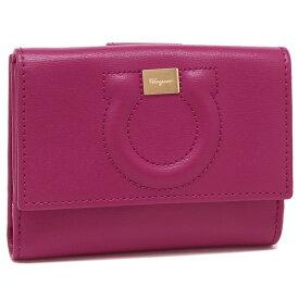 Salvatore Ferragamo 折財布 レディース フェラガモ 22C844 0714800 ピンク