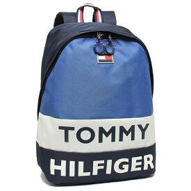 TOMMY HILFIGER リュック バックパック メンズ レディース トミーヒルフィガー TC980AE9 NAVY/WHT/ROYAL マルチ